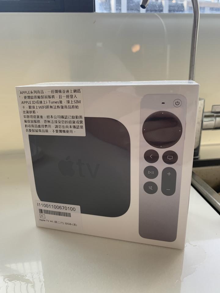 台北 Apple TV 4K 二代(2021版) 全新未拆