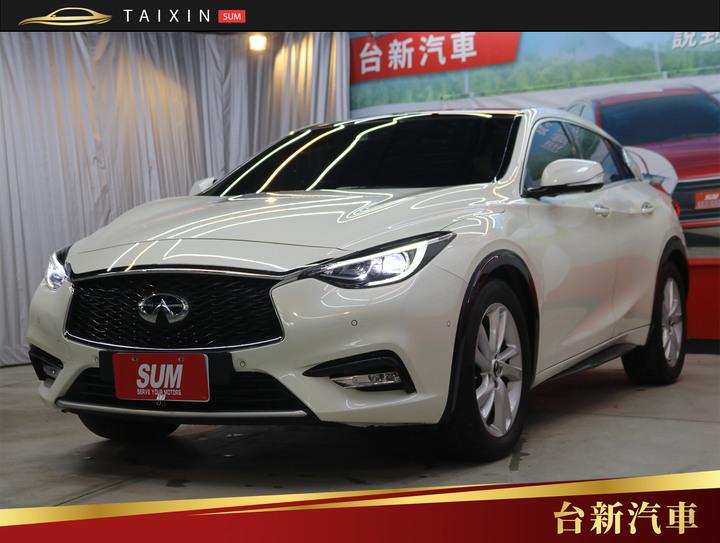台南小林-Q30 頂級 全景天窗 智慧跟車系統 環景螢幕 導航系統 一手車 原鈑件 跑7萬 原廠保養 里程保證