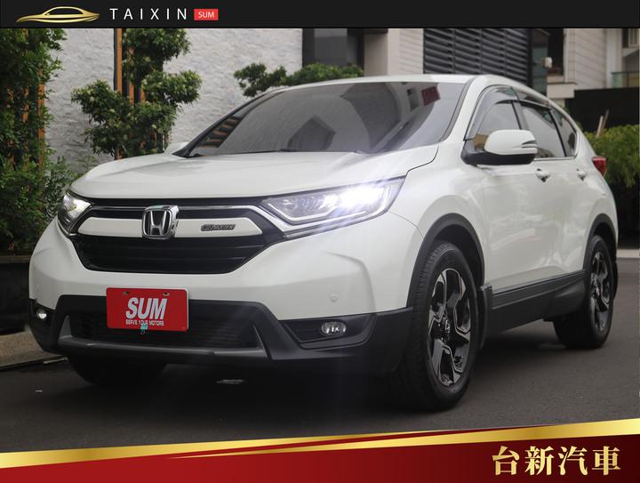 台南小林-CR-V 僅跑四萬四 一手車 原鈑件 原廠保養 里程保證