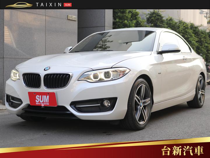 台南小林-220d Coupe 定期保養 里程保證 內外好漂亮 車子健康