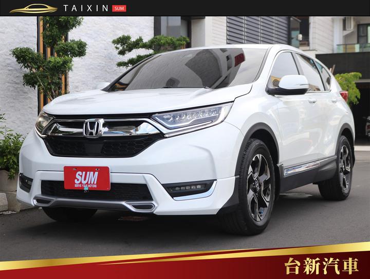 台南小林-CR-V 主動跟車 僅跑兩萬九 一手車 原版件 原廠保養 里程保證 新車保固中