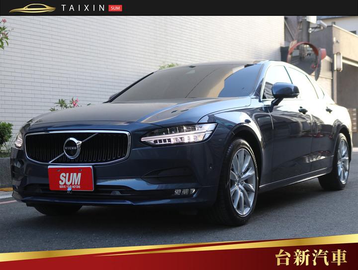 台南小林-S90 主動跟車 僅跑一萬八 一手車 原版件 原廠保養 新車保固