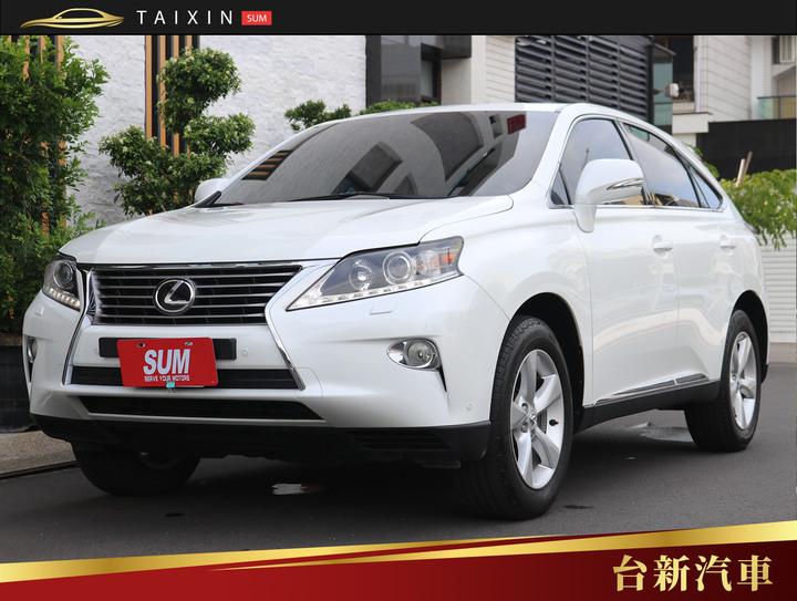 台南小林-RX270 2013年式 頂級版 僅跑五萬八 一手車 原版件 原廠保養 里程保證