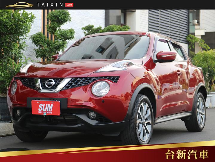 台南小林-Juke 1.6 一手車 原版件 跑十萬 原廠保養 里程保證