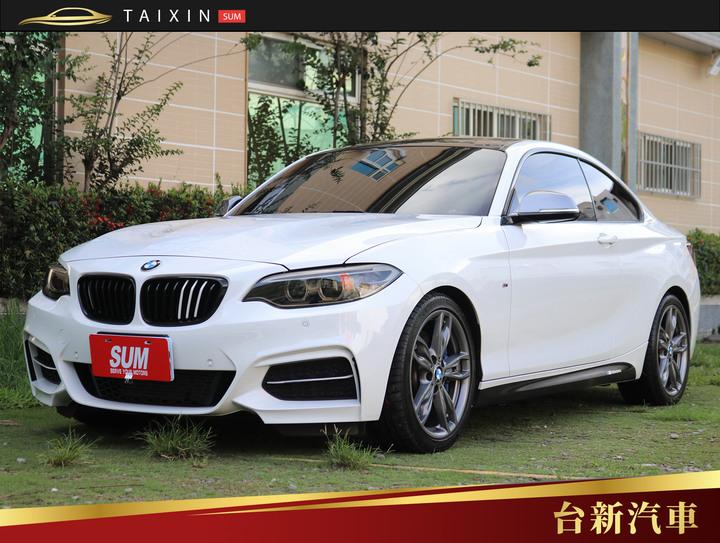 台南小林-M235i 326P 僅跑三萬二 一手車 原版件 原廠保養 里程保證