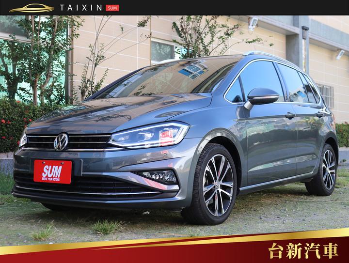 台南小林-GOLF Sportsvan 跟車系統 僅跑2萬7 一手車 原鈑件 新車保固中