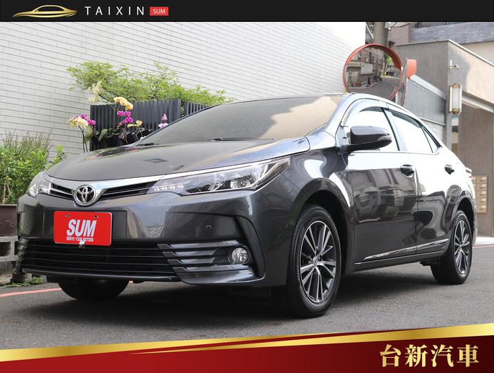 台南小林-ALTIS 2017年式 僅跑四萬 一手車 原版件 原廠保養 新車保固