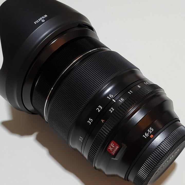 富士 Fujifilm XF 16-55mm F2.8 R LM WR、在家使用3次、完美如新外觀,恆定大光圈