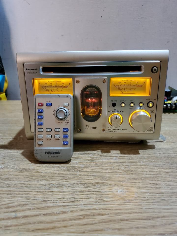 Panasonic CQ-TX5500W  含搖控器不含喇叭(可議價)
