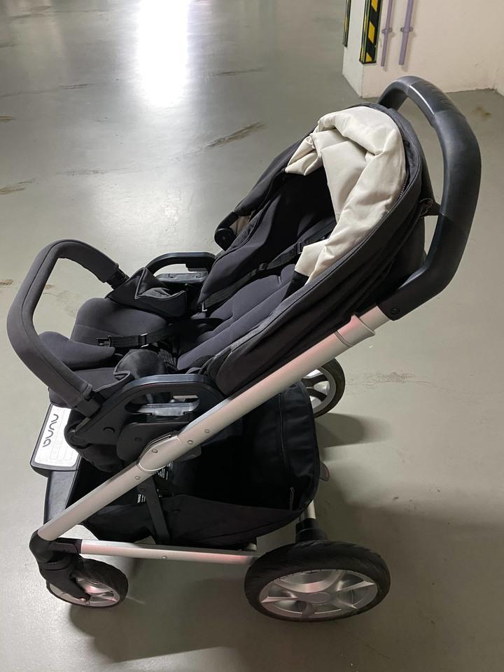 Nuna mixx 三合一雙向 嬰兒手推車 2016款