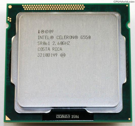 【24小時營業】Intel Celeron G550  雙核 CPU / 1155腳位/ 2.6G / 2M  內建顯示