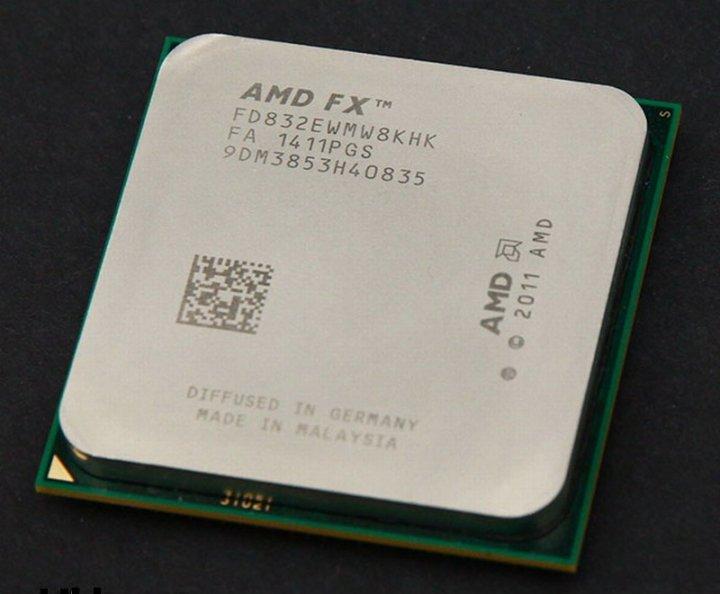 AMD FX-8320E  八核心處理器、堆土機95W省電版、L3快取-8MB、時脈3.2GHz ( 散裝、無風扇 )