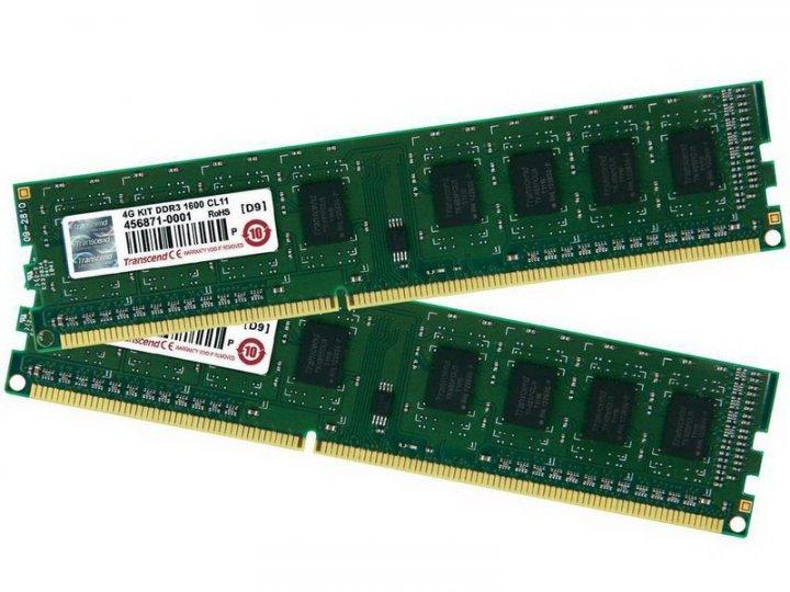 創見 Transcend 4GB DDR3 -1600 雙面顆粒 、終身保固 、測試良好的庫存備品【單支價 $550】