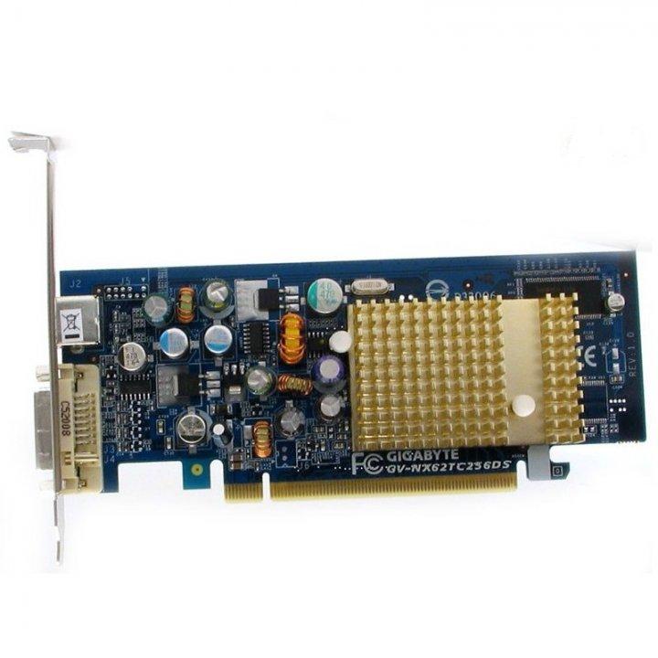 技嘉GV-NX62TC256DS 顯示卡、PCI-E介面、拆機測試良品、外觀品相很優。