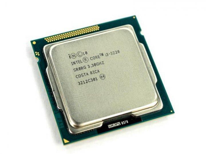 Intel 正式版 第3代 Core I3-3220 ( 3.3G ) 拆機良品、LGA1155、附原廠風扇
