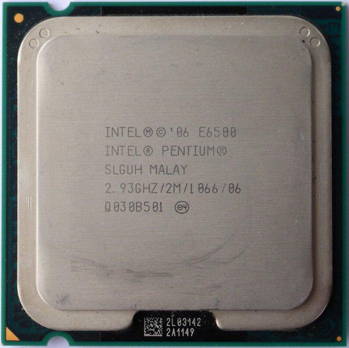 Intel Pentium E6500 雙核心 775腳位 處理器、 2M快取、2.93G、1066MHz