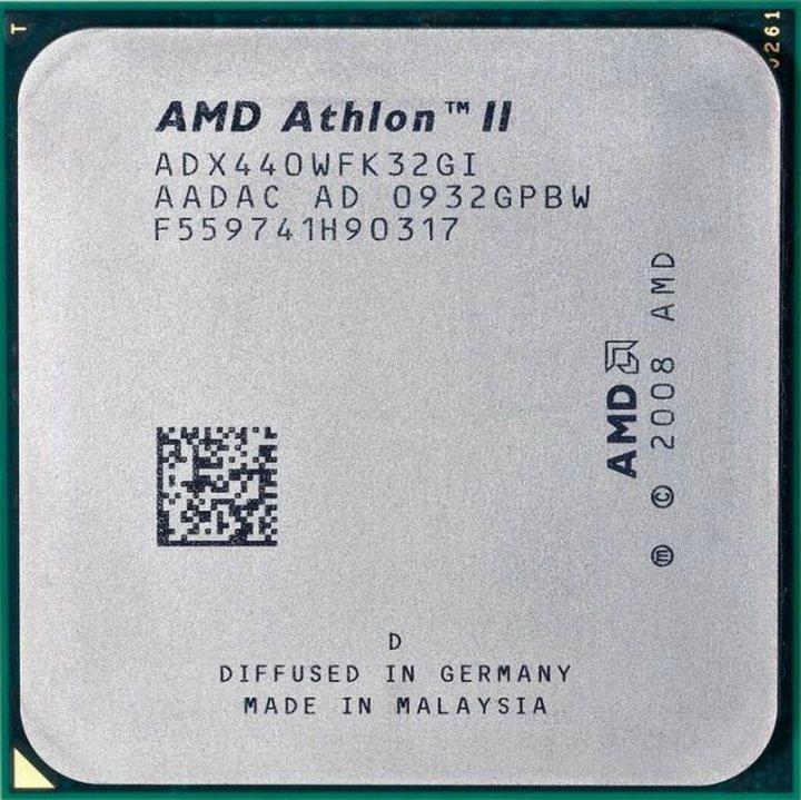 AMD Athlon II X3 440 三核心三線程 AM2+ / AM3 / 3.0G處理器、散裝、拆機良品