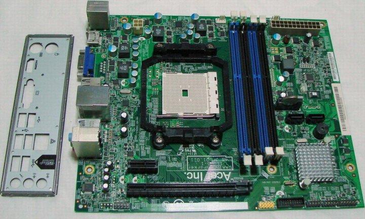 宏機 FM1 DAA75L-aParker 主機板、支援USB3.0、適 宏碁M1470、X3470 主機、附擋板