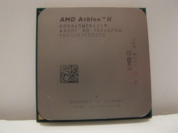 AMD Athlon II X4 645 四核心 AM3+ / 938 / 3.10G 處理器、拆機良品