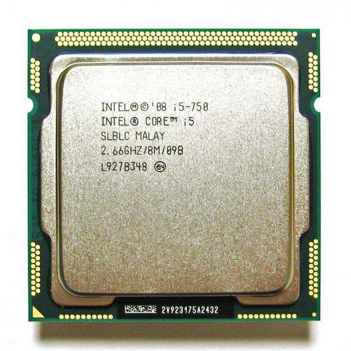 Intel  i5-750 / 2.66GHz / 8M / 1156腳位 正四核心中央處理器、附原廠風扇、庫存備用良品