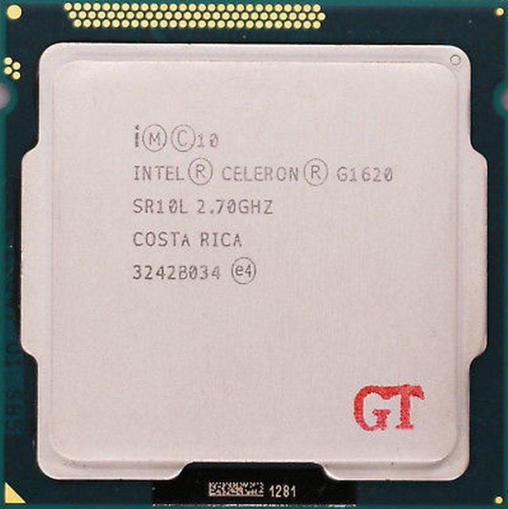 Intel Celeron G1620 雙核CPU / 1155腳位 / 2.7G / 2M快取、內建顯示(散裝良品)