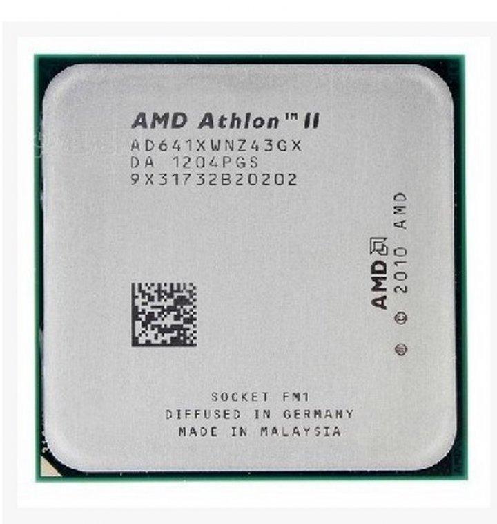 AMD Athlon II X4 641 四核四線程 Socket FM1( 905-pin )、2.8GHz、4M快取