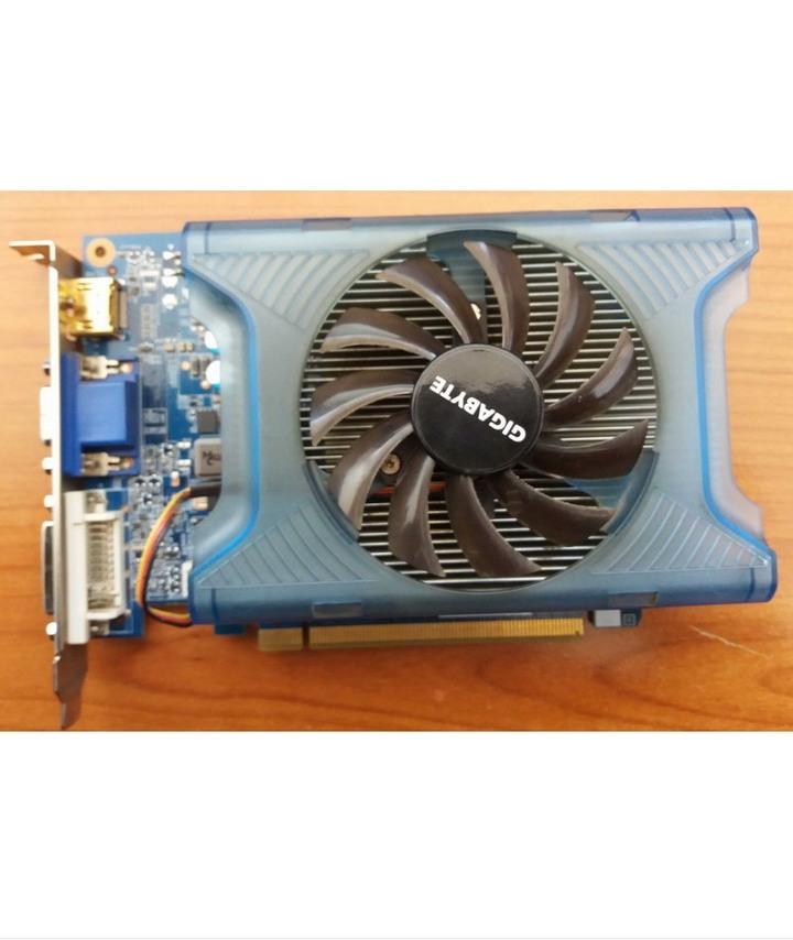 技嘉 GV-N220TC-1GI 128Bit、GeForce GT220繪圖晶片、二手良品、2D、3D線上遊戲精選