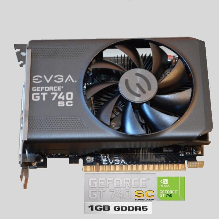 EVGA艾維克 GT740 SC 顯示卡、GT740晶片、DDR5、高性能低功耗、3D遊戲推薦卡【自取優惠佛心價750】