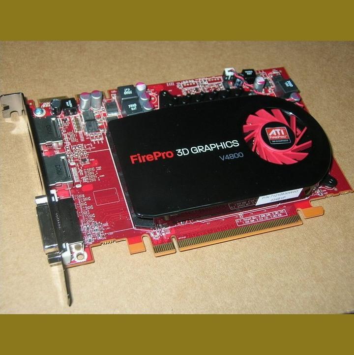 AMD FirePro V4800 標準專業繪圖卡、DDR5/1GB/128Bit、支援3屏輸出【自取價1399】