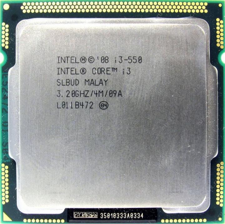 Core i3-550處理器+華碩P7H55-M-CM5575-DP_MB主機板+8G DDR3 記億體、附擋板與風扇