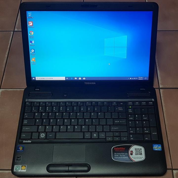 東芝 Satellite C655 15.6吋四核筆電、4G記憶體、500G硬碟、Intel HD顯卡、DVD燒錄機