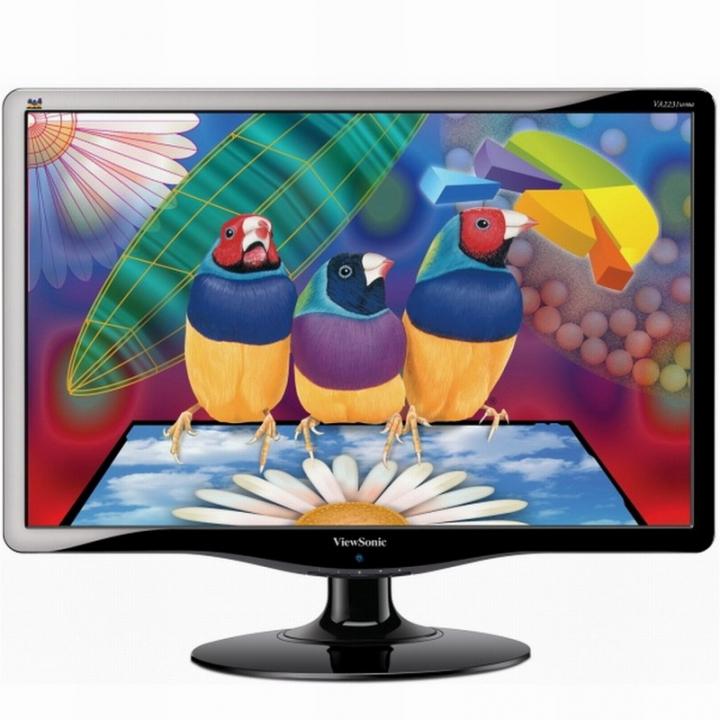 ViewSonic 優派 VA1932wa-LED 19吋寬16:10液晶顯示器、燒機測試的二手良品
