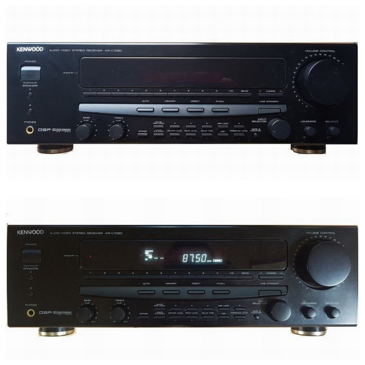 KENWOOD AUDIO-VIDEO STEREO RECEIVER KR-V7050 高音質擴大機