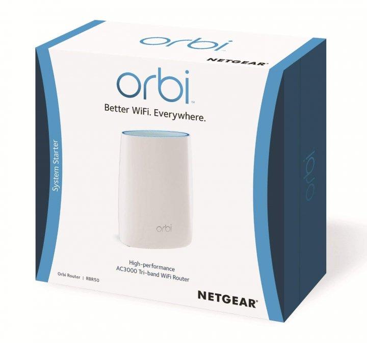 Netgear Orbi RBR50 無線 Mesh 路由基地台