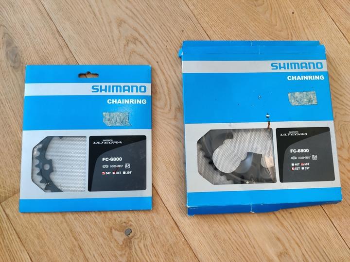 Shimano 6800 CT 盤尺片