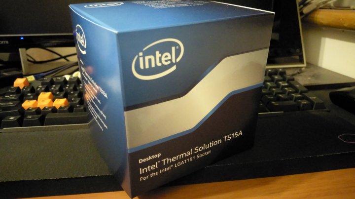 全新INTEL 英特爾 BXTS15A  TS15A CPU盒裝散熱風扇 LGA1151適用