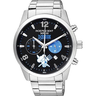 [INDEPENDENT]x ONE PIECE航海王限量聯名腕錶 香吉士款 剛至寶島鐘錶拋光保養 絕對超值 新竹可面交