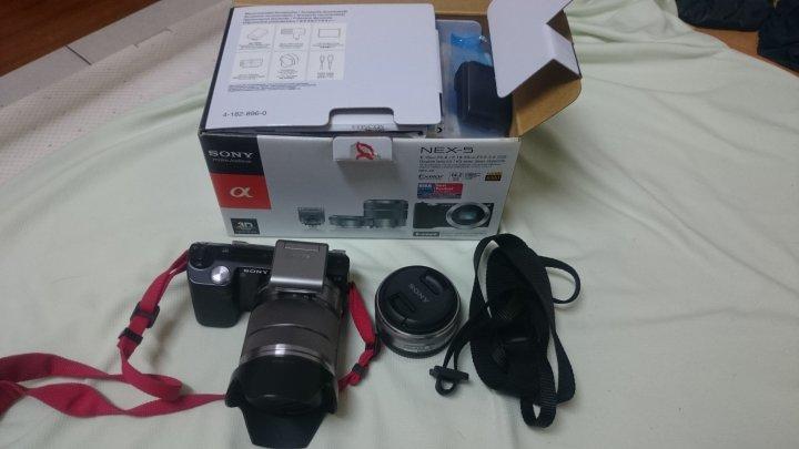 近新品 Sony NEX-5 NEX5 雙鏡組 配件齊全 盒裝完整 功能皆正常 新竹市可面交