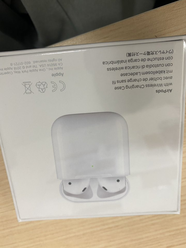 AirPods 2 搭配無線充電版 加送Apple Care+ 新竹市可面交