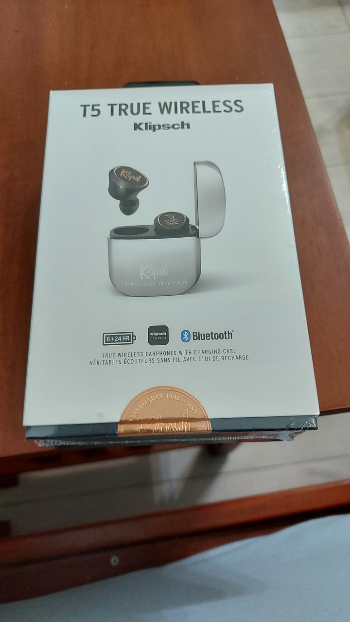 全新 Klipsch 古力奇 T5 TRUE WIRELESS 真無線藍牙耳機 apple airpods可參考