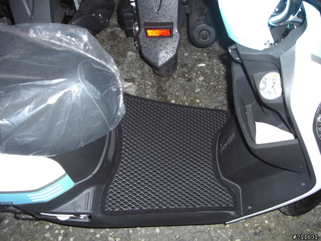 機車腳踏墊全新量身訂做SYM三陽Mii 110機車雙層止滑減震精品腳踏墊*底部有防滑顆粒不需鎖螺絲的踏墊*含運599