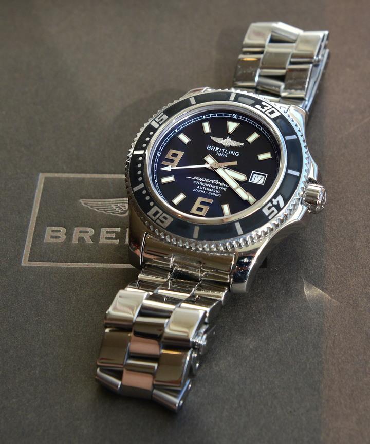 Breitling 百年靈 Super Ocean 44mm A17391 A17392 A17367