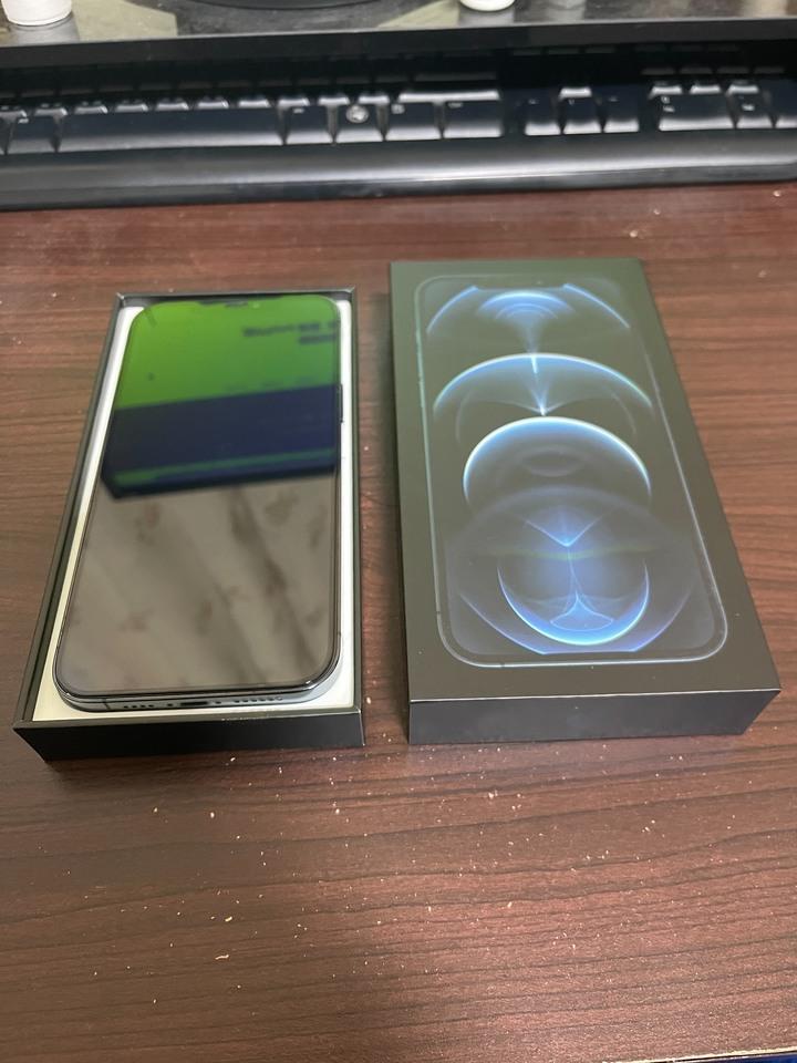 Apple Iphone12pro Max 6.7吋 256G 太平洋藍 蘋果官網貨保固中