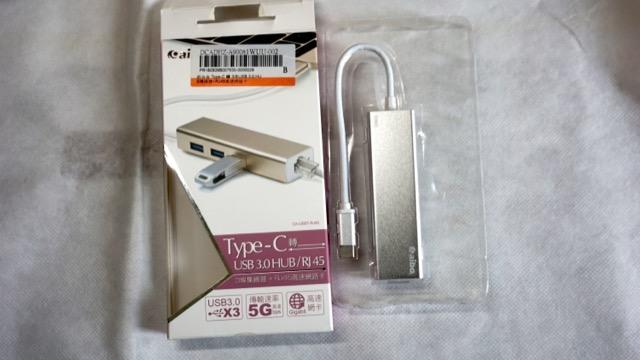Type C轉 USB hub 及 RJ45 G Lan