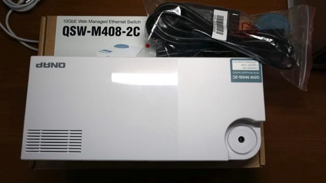 QNAP 威聯通QSW-M408-2C 12埠L2 Web 管理型10GbE 交換器