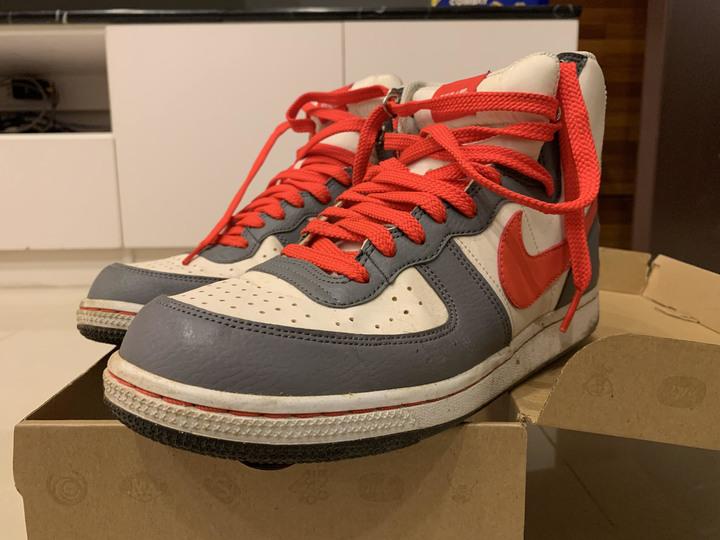 NIKE TERMINATOR HIGH BASIC籃球鞋 8號