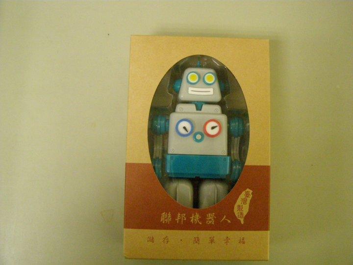全新懷舊聯邦機器人公仔