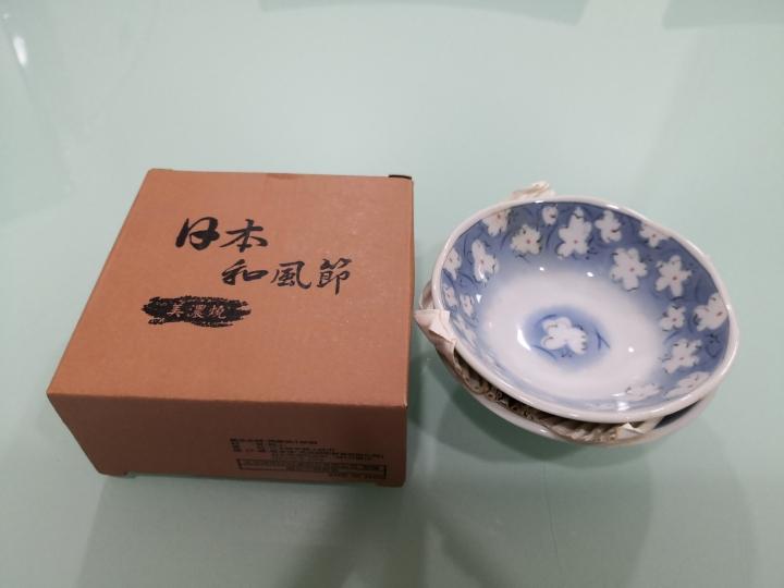 全新日本美濃燒瓷碗