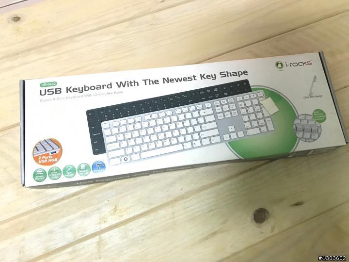 i-rocks 鋁合金薄型鍵盤 KR-6402