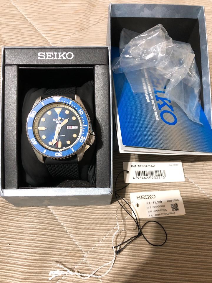 SRPD71K2 SEIKO 5 Suit 機械錶